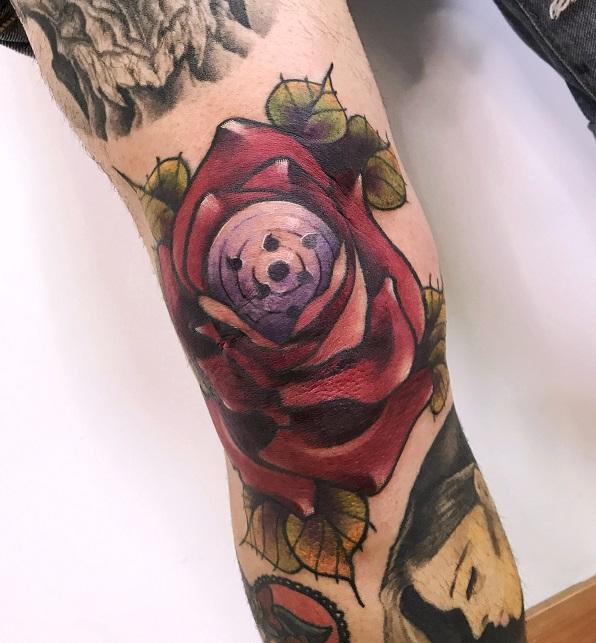 Rosa con rinnegan
