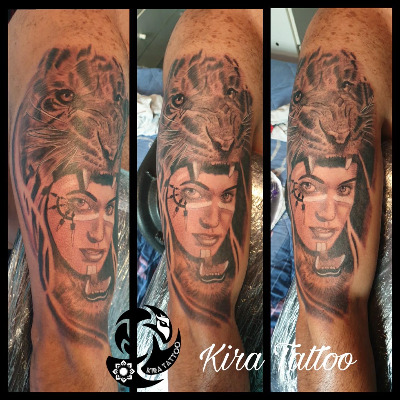 India con tigre