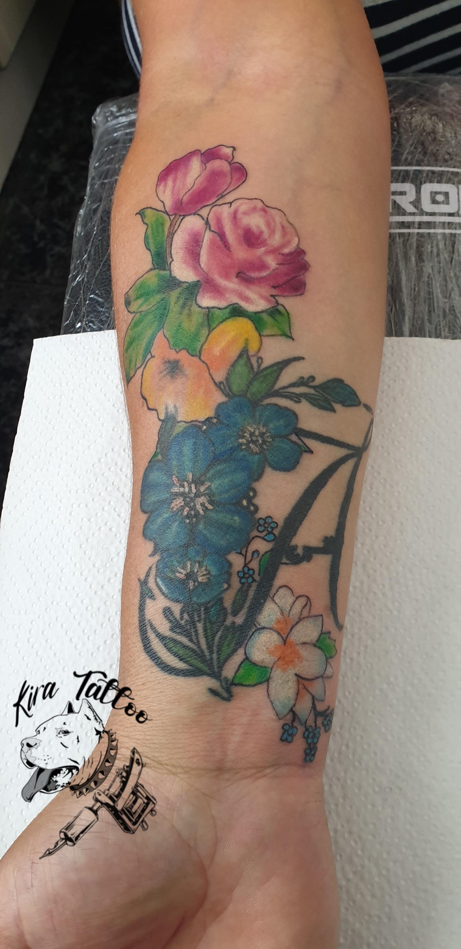 Floral en color